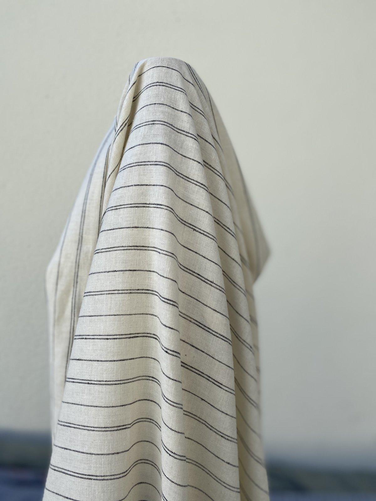 Hemp Organic Cotton Yarn Dye Stripe (55)