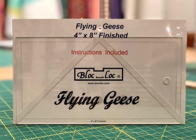 Flying Geese Ruler 4x 8