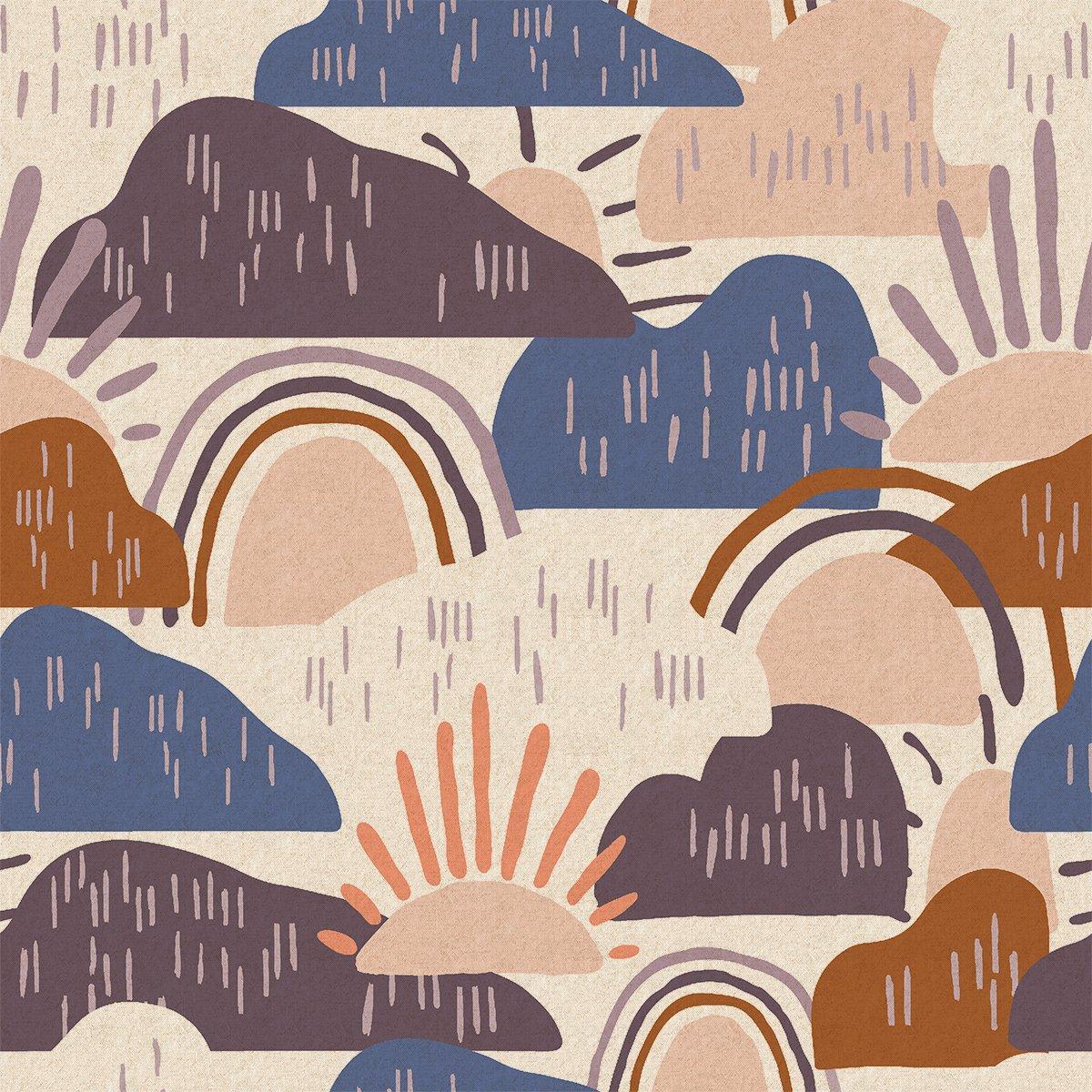Dear Isla - Hilltop - Approaching Storm Unbleached Canvas