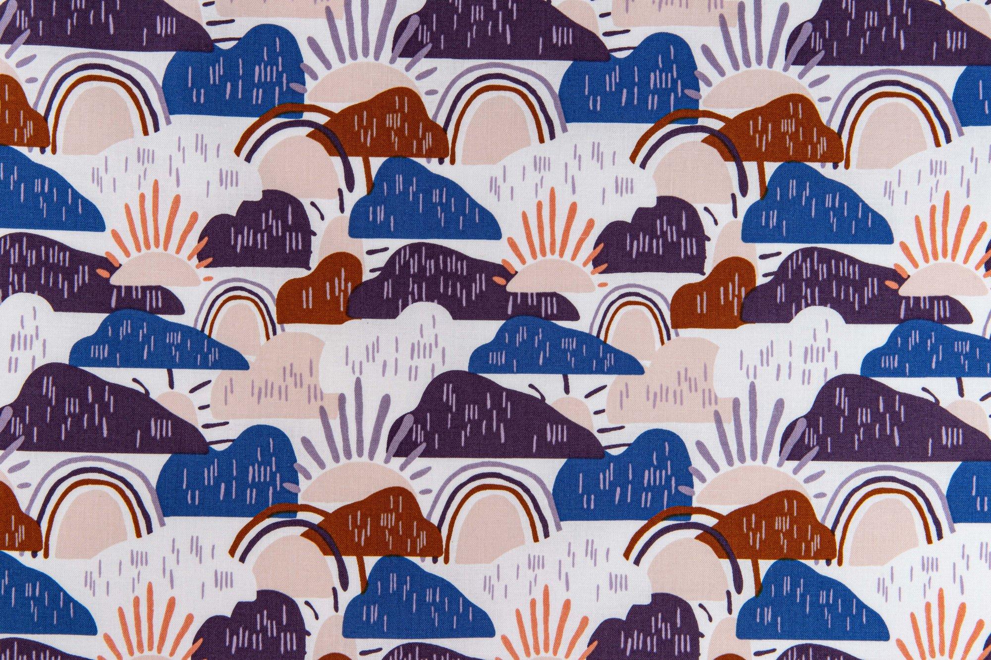 Dear Isla - Hilltop - Waterdrop Fabric