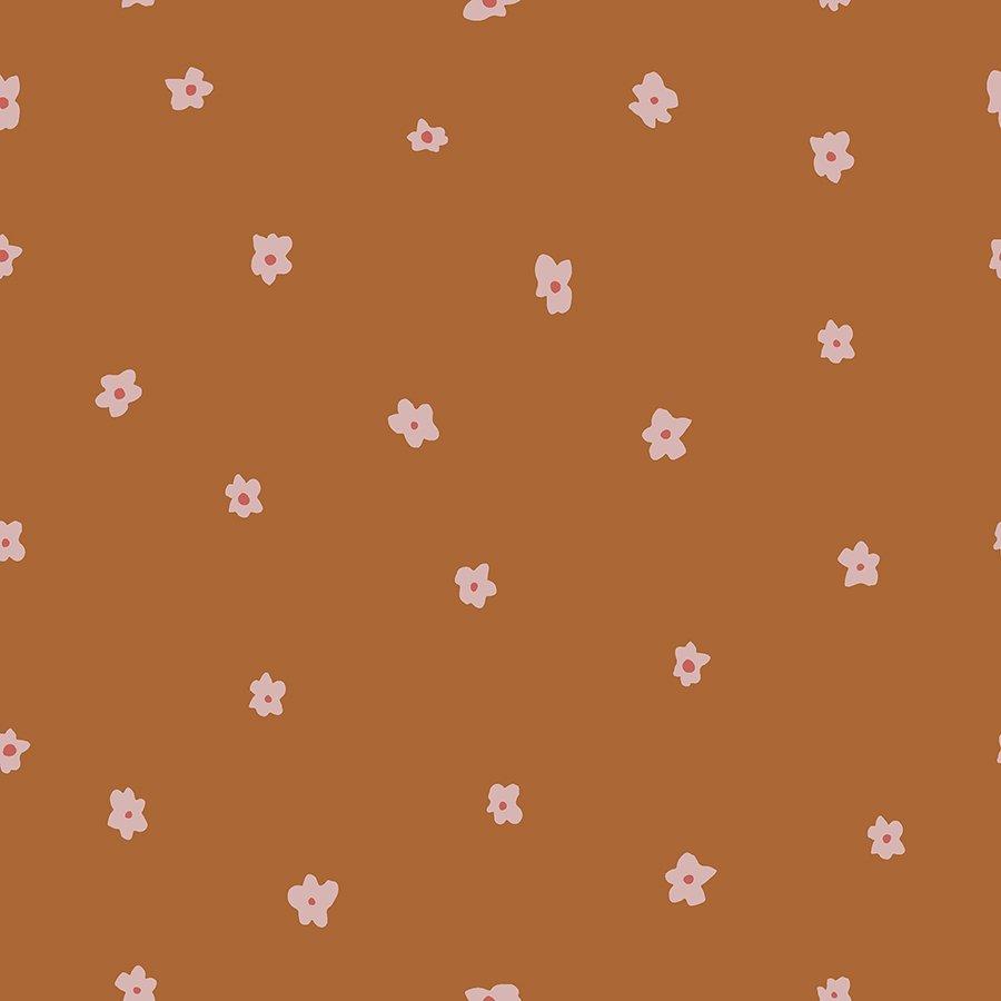 Dear Isla - Posies - Dried Mustard Fabric