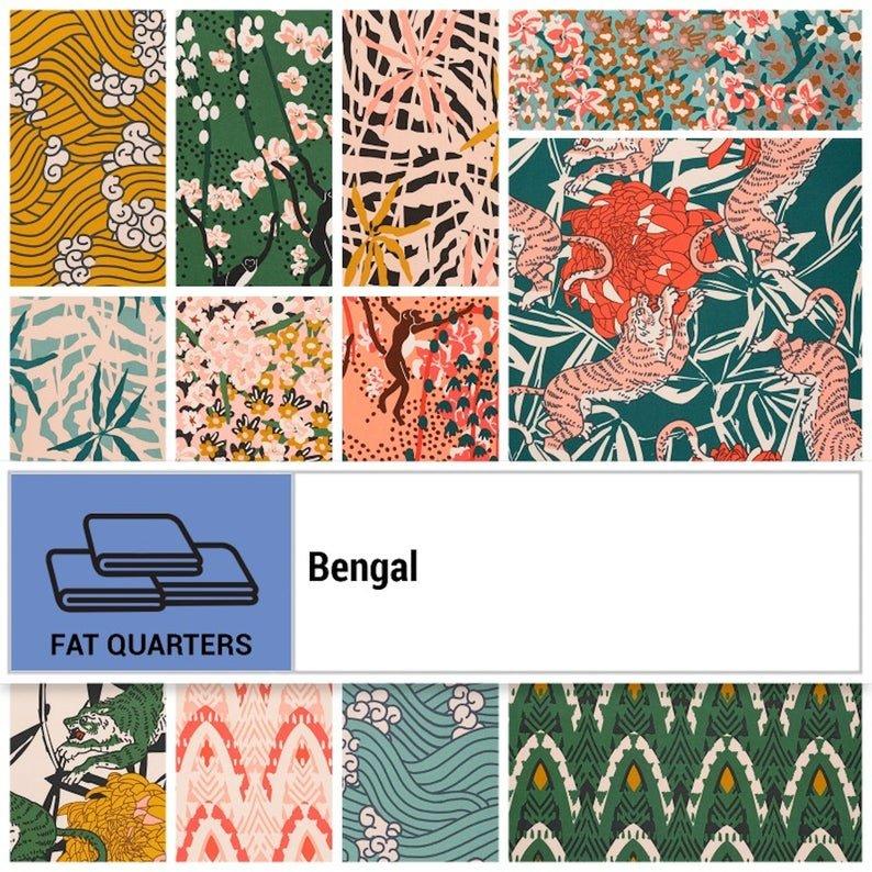 Bengal Nerida Hansen - Fat Quarter