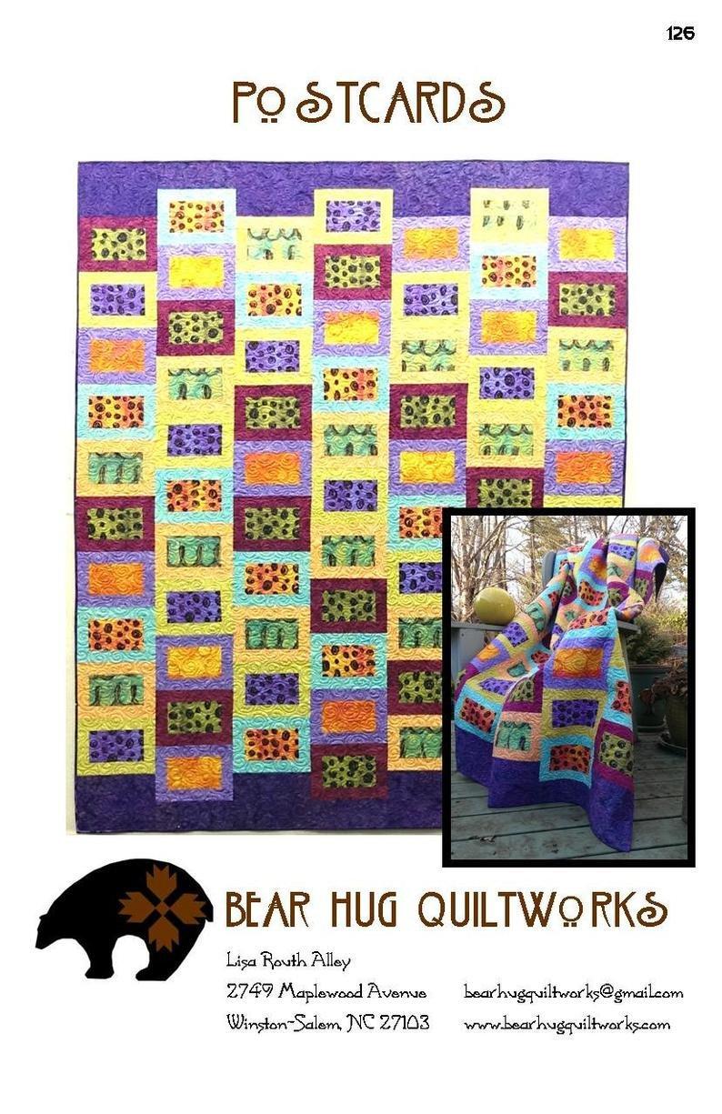 Bear Hug Quiltworks - Postcards