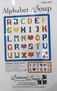 Alphabet Soup Card Patterns