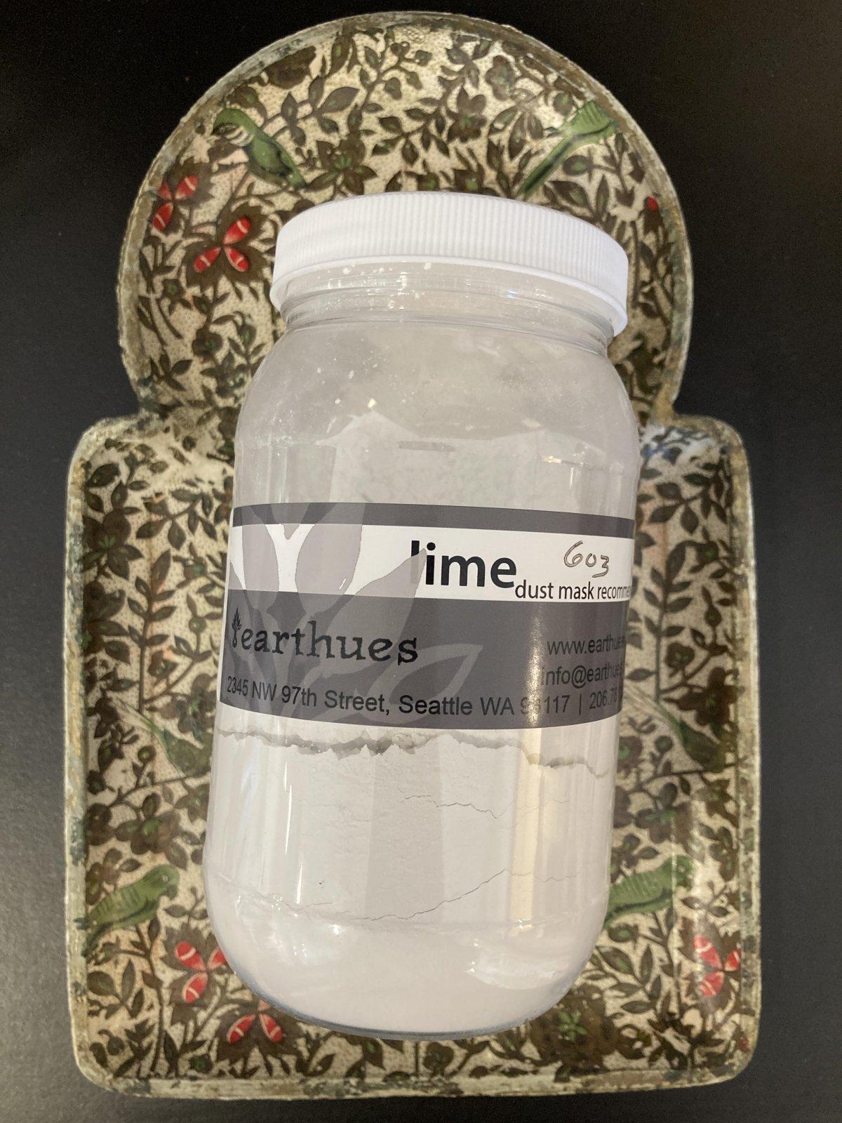 Calcium Hydroxide -Lime 6oz