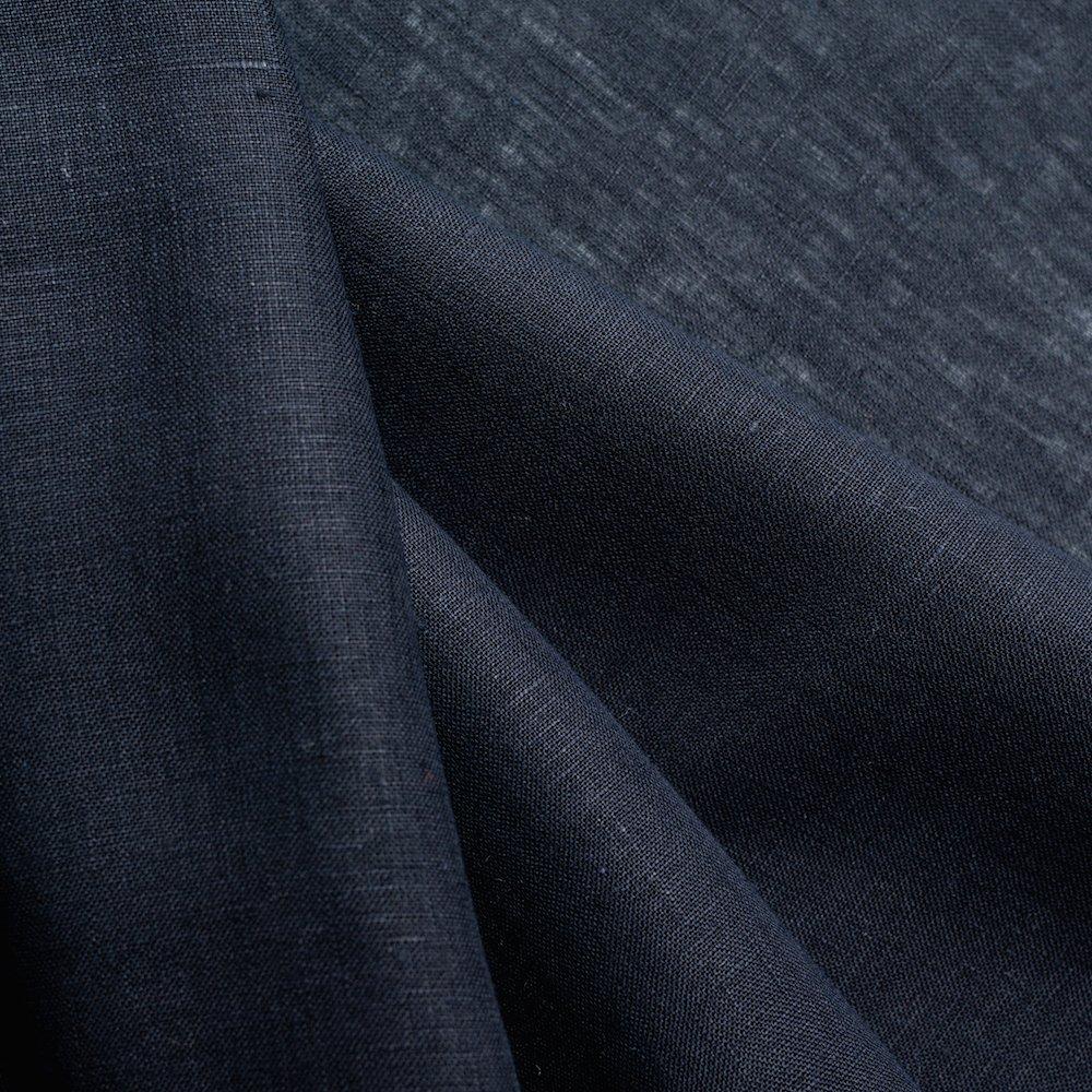 Birch Linen - Black - Yarn Dyed
