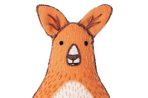 Kangaroo- Embroidery Kit