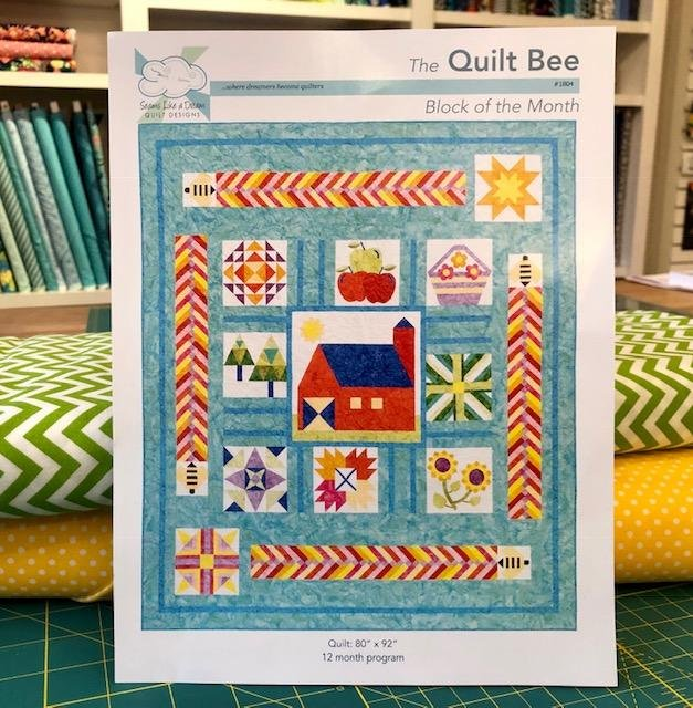 Quilt Bee Block of the Month - by Kate Colleran