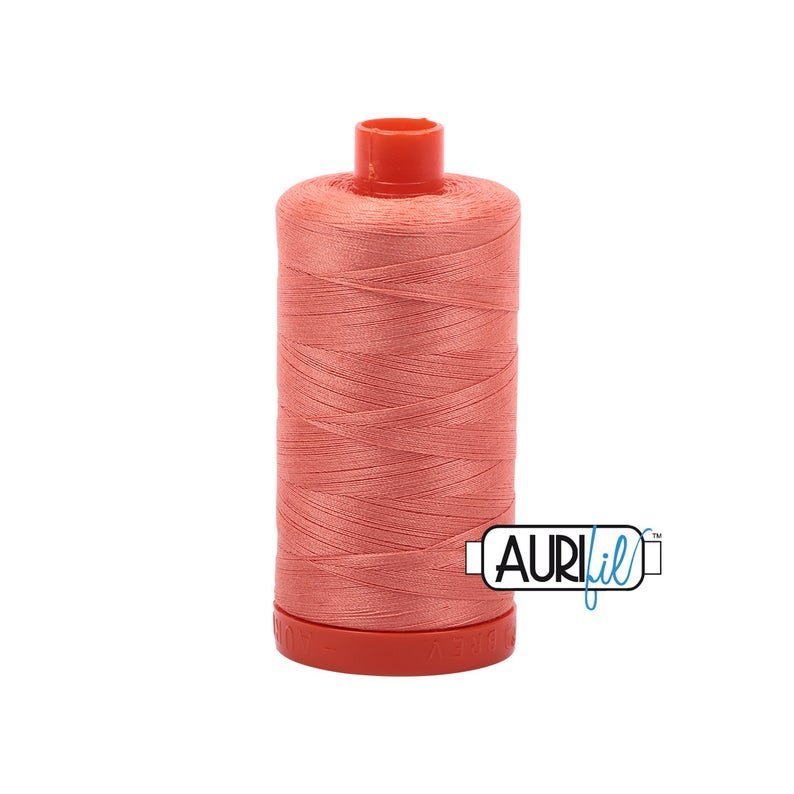 AURIFIL Cotton Thread Solid 50wt 1422yds - Light Salmon