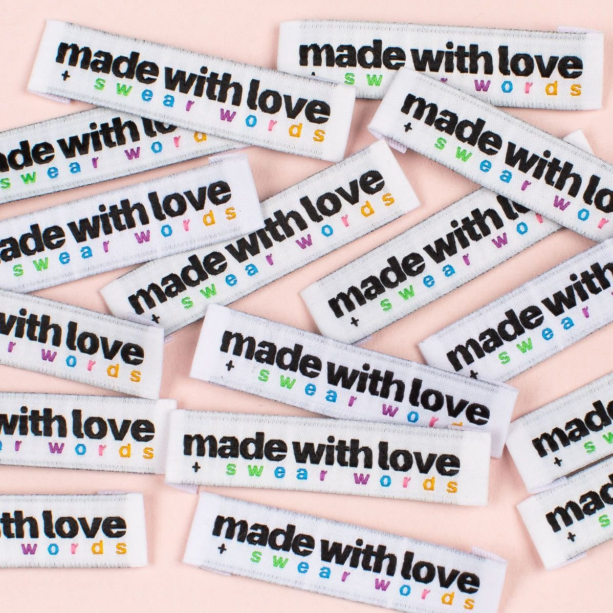 Kylie and the Machine Made with Love and Swear Words Labels