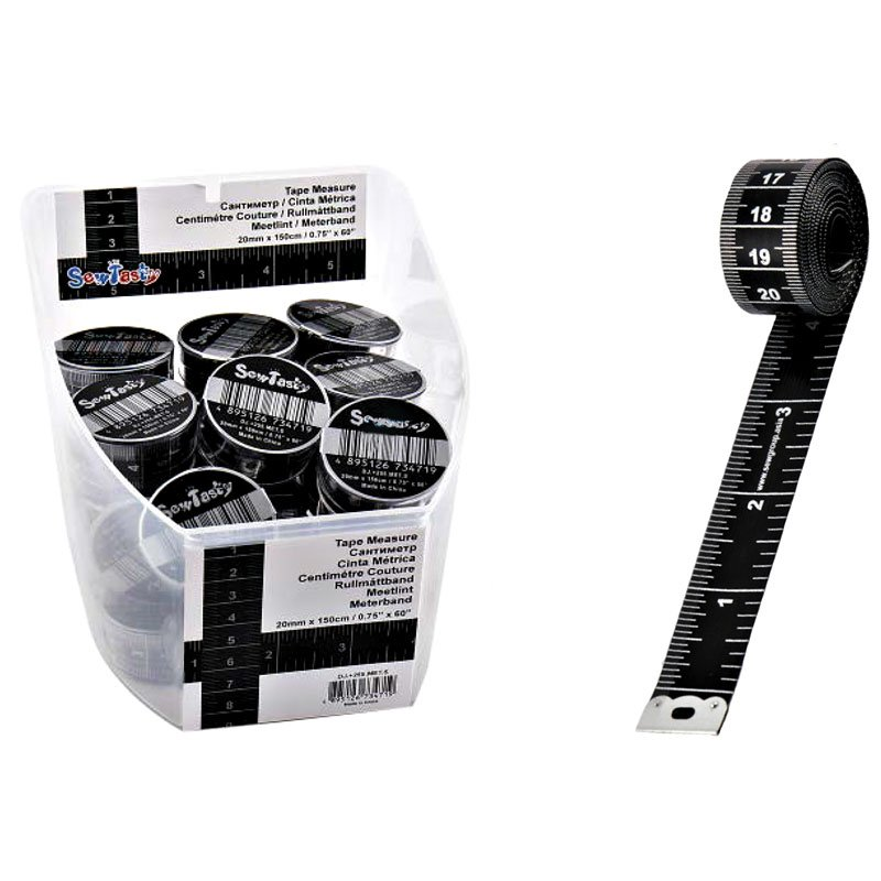 Measuring Tape Black and Silver