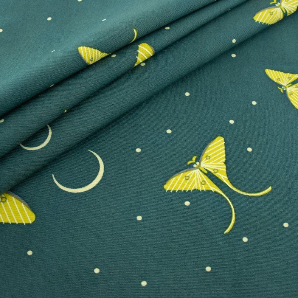 Charley Harper, Moth Flight Organic Cotton