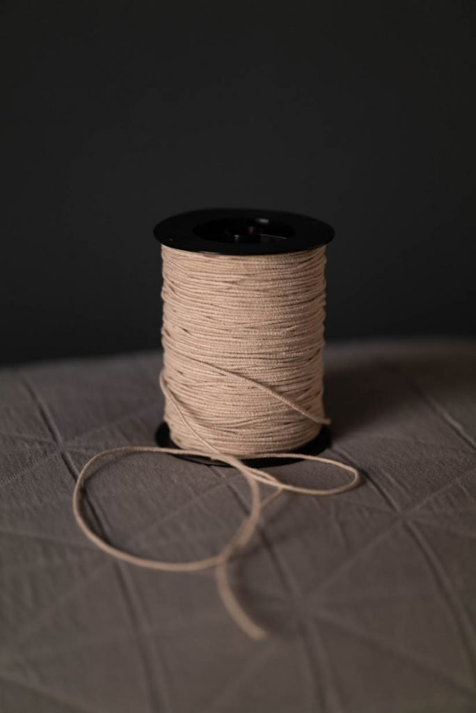 Recycled Cotton Elastic Oatmeal