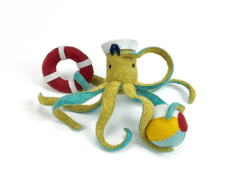 Ellie Octopus Kit by Thread Follower