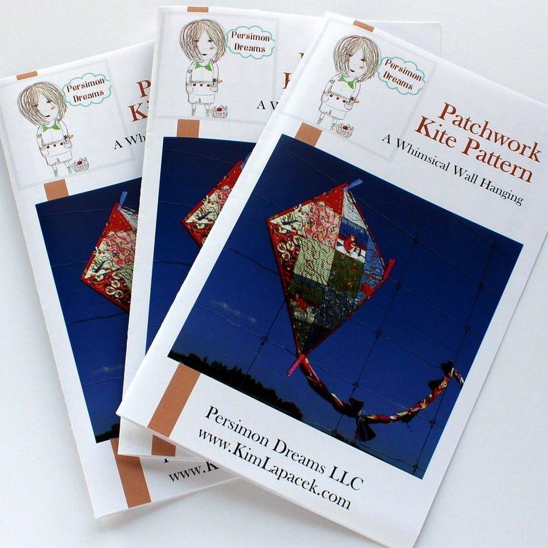 Persimon Dreams - Patchwork Kite Pattern