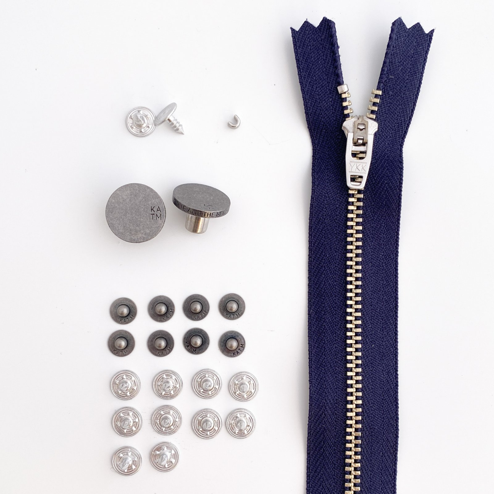 Kylie and the Machine Jeans Hardware Refill Kit