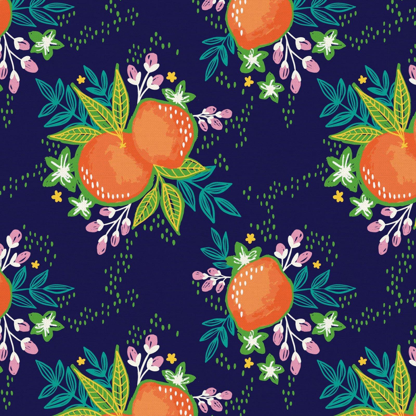 Citrus House Grove Bouquet Navy
