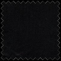 Beefy Brushed Bull Denim Black 11-12oz