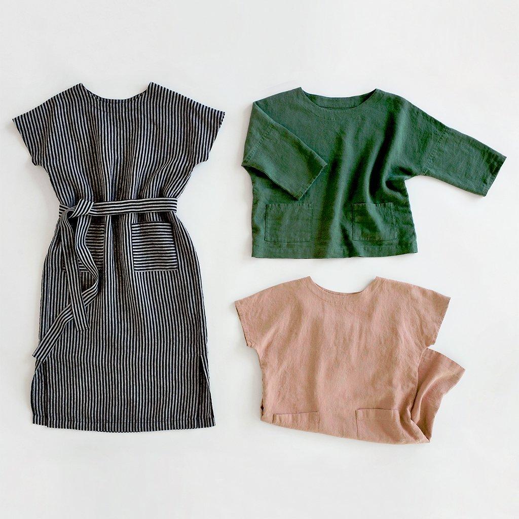 Wiksten Shift Dress + Top Sewing Printed Pattern