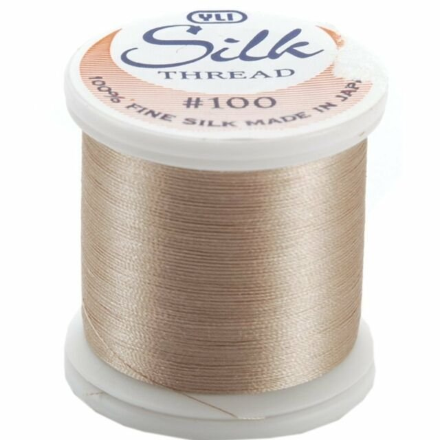 YLI Thread - Silk #100 Color 242 - Pinky Brown