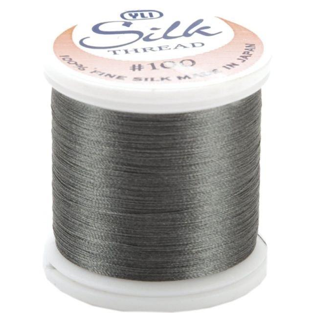 YLI Thread - Silk #100 Color 238 - Dark Gray