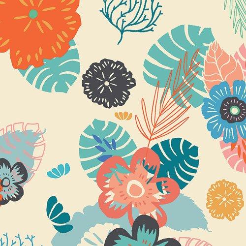 Art Gallery - Jessica Swift - Sirena - Ocean Floret Breeze