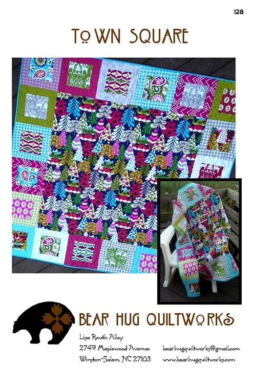 Bear Hug Quiltworks - Town Square