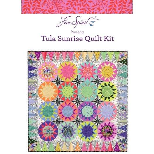 Tula Pink - Monkey Wrench Tula Sunrise Quilt Kit