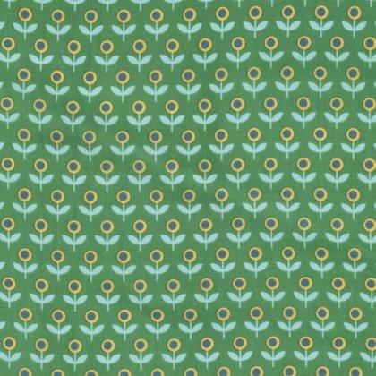 VOILE - Joel Dewberry - Modernist - Tulip March - Emerald