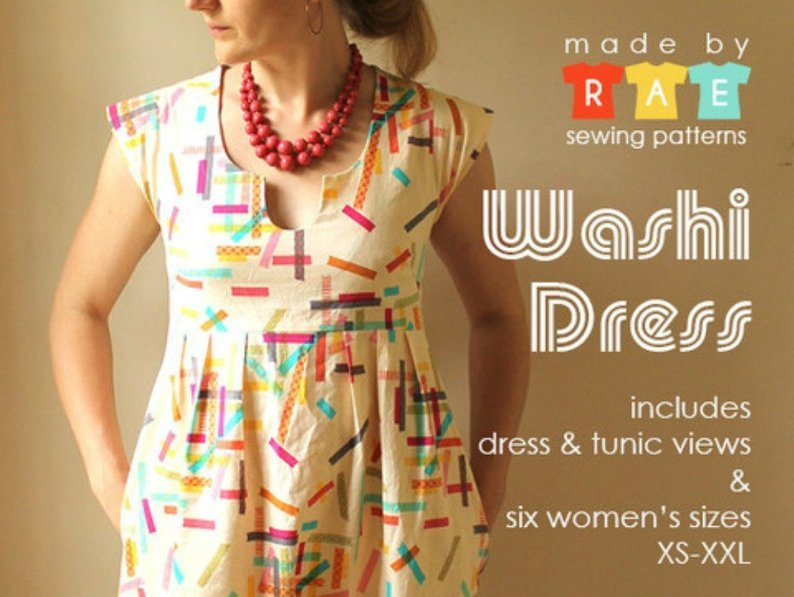 Washi Top/Dress Women's Pattern   - Made by Rae