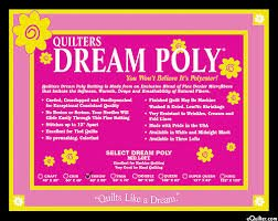 Quilters Dream - Black Poly King Select