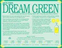 Quilters Dream - Green Double