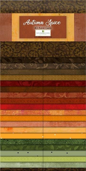 Autumn Spice 2.5 inch Strips