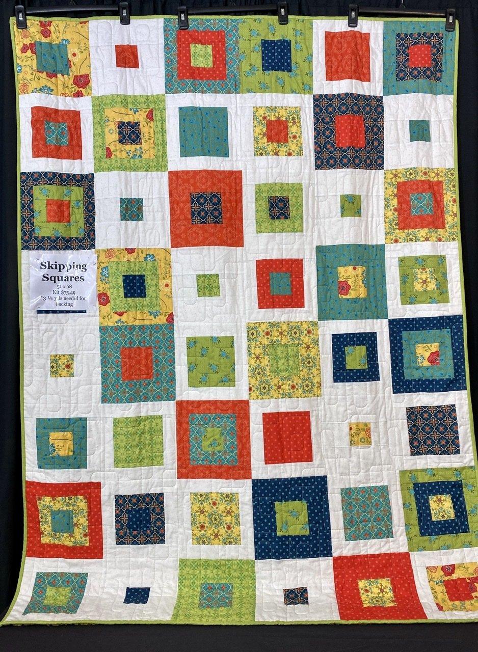 Skipping Squares Kit 51x68