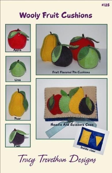 Wooly Fruit Cushions Kit