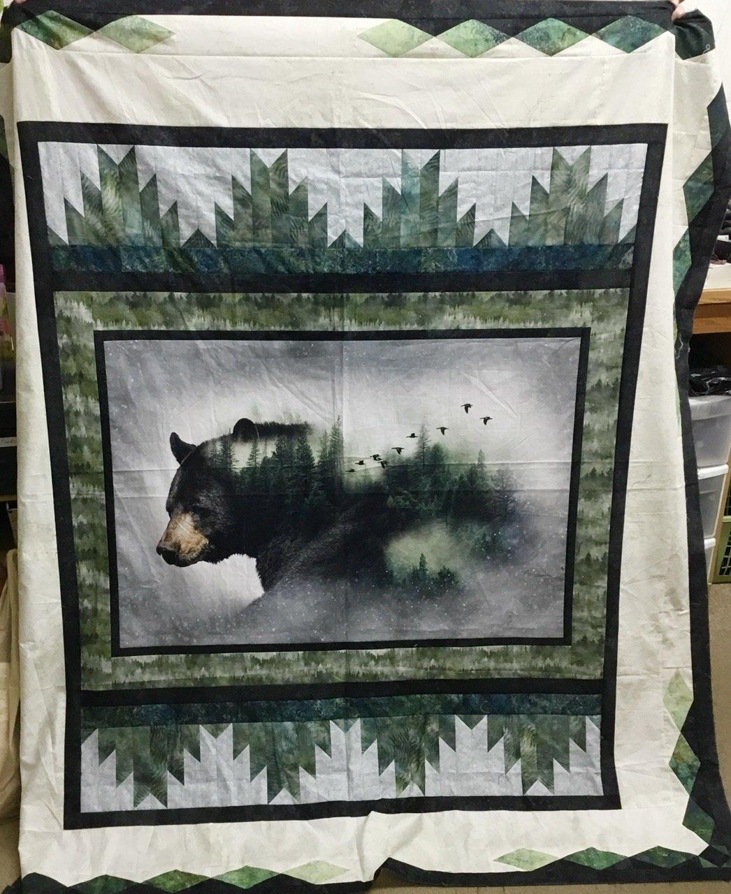 Bear Reflections kit  70 x 80