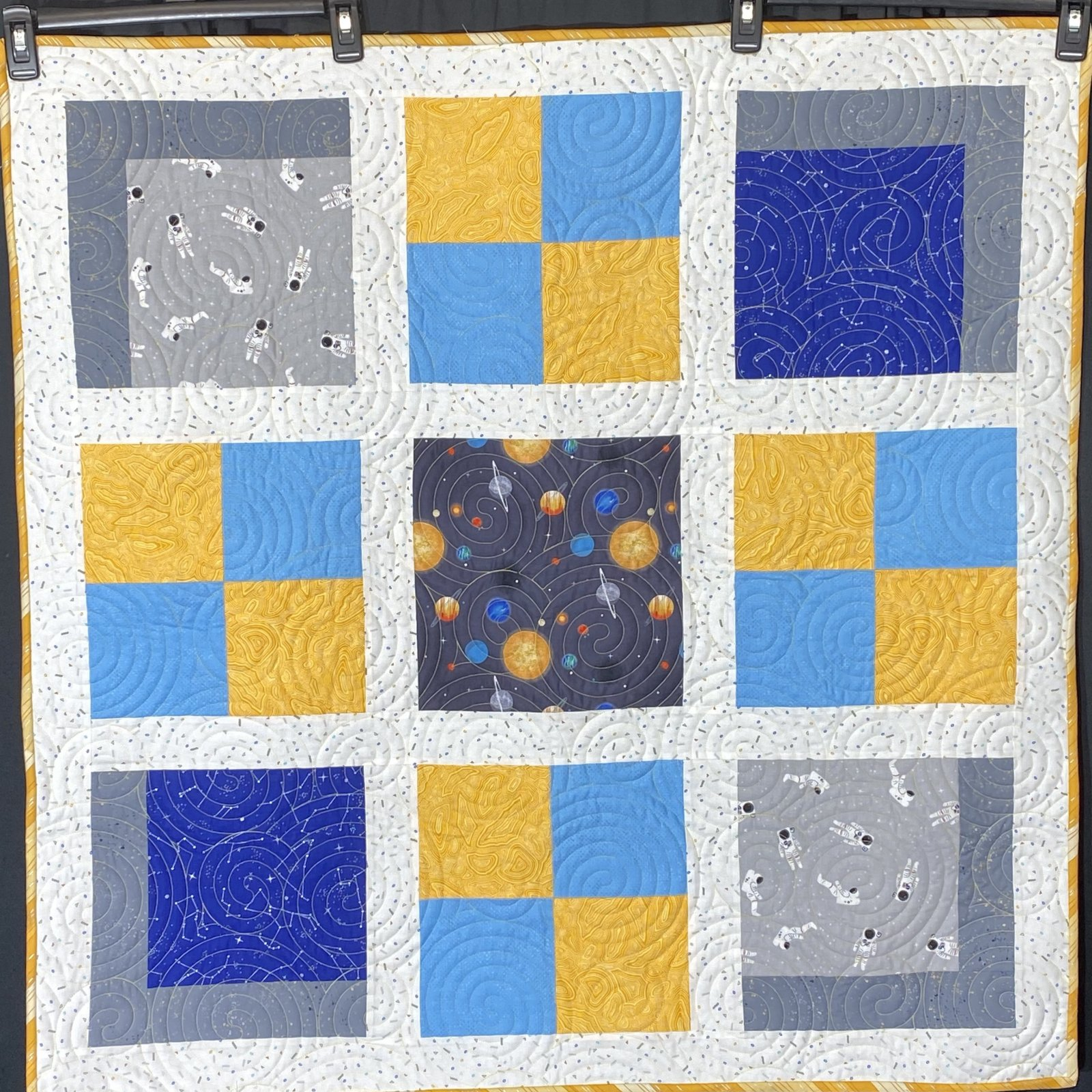 Four Patch Fun Space 39 x 39
