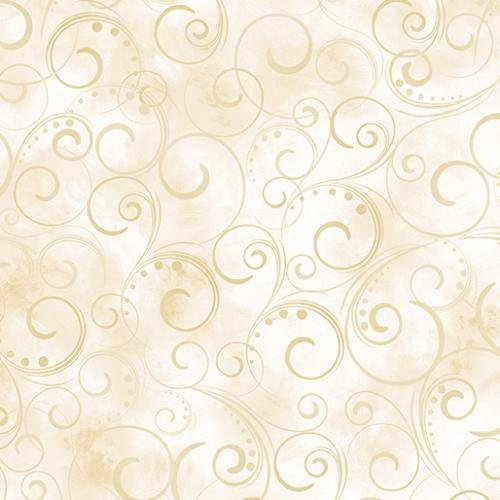 Swirling Splendor 9705W07 Cream