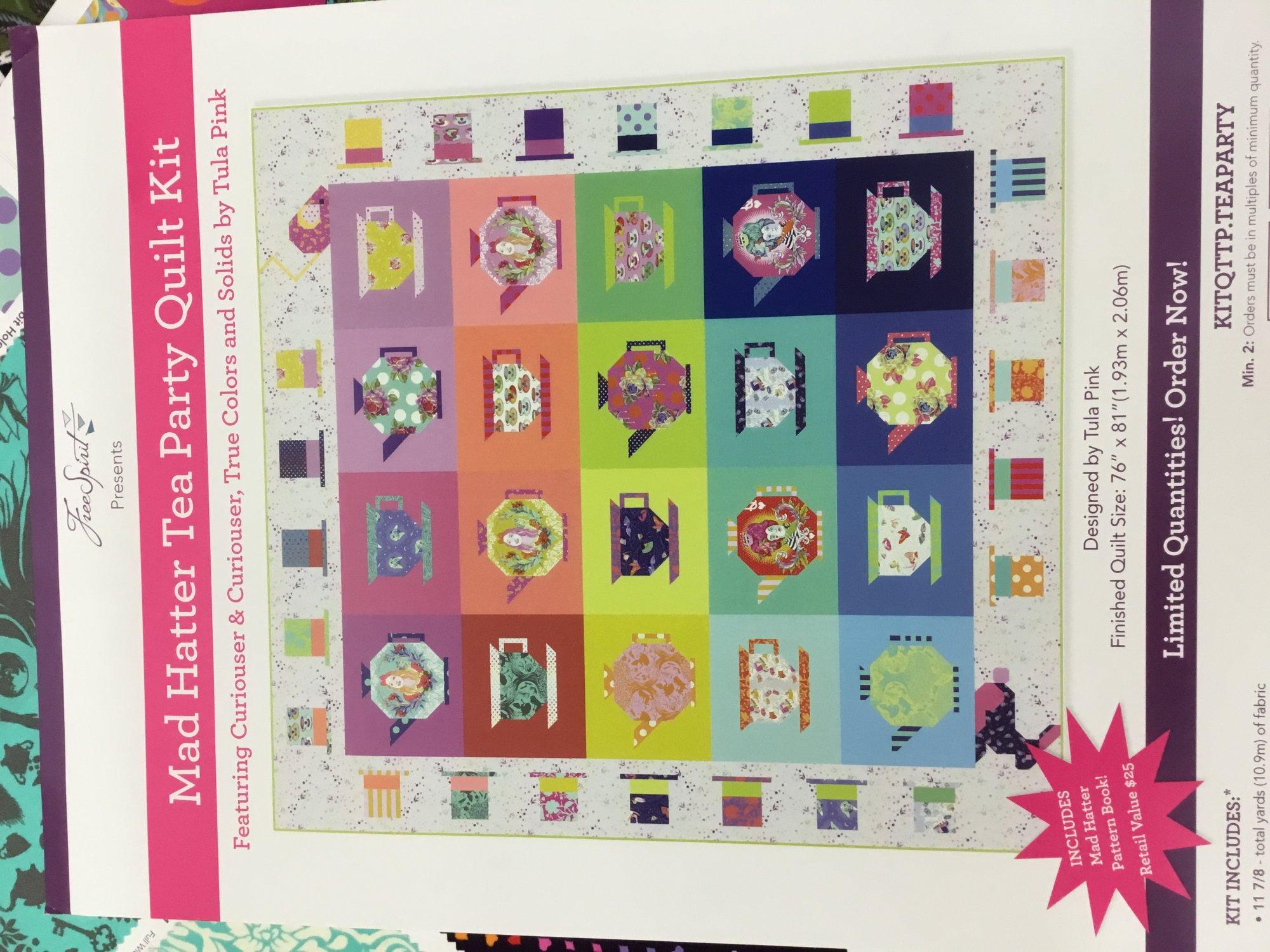 Tula Pink Tea Party box kit PREORDER
