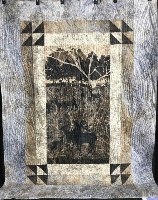 Fernanda Deer quilt kit