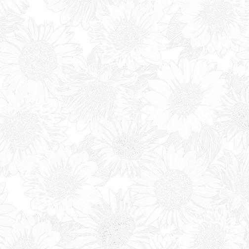 108 Sunflower Whisper 9936W-09 White