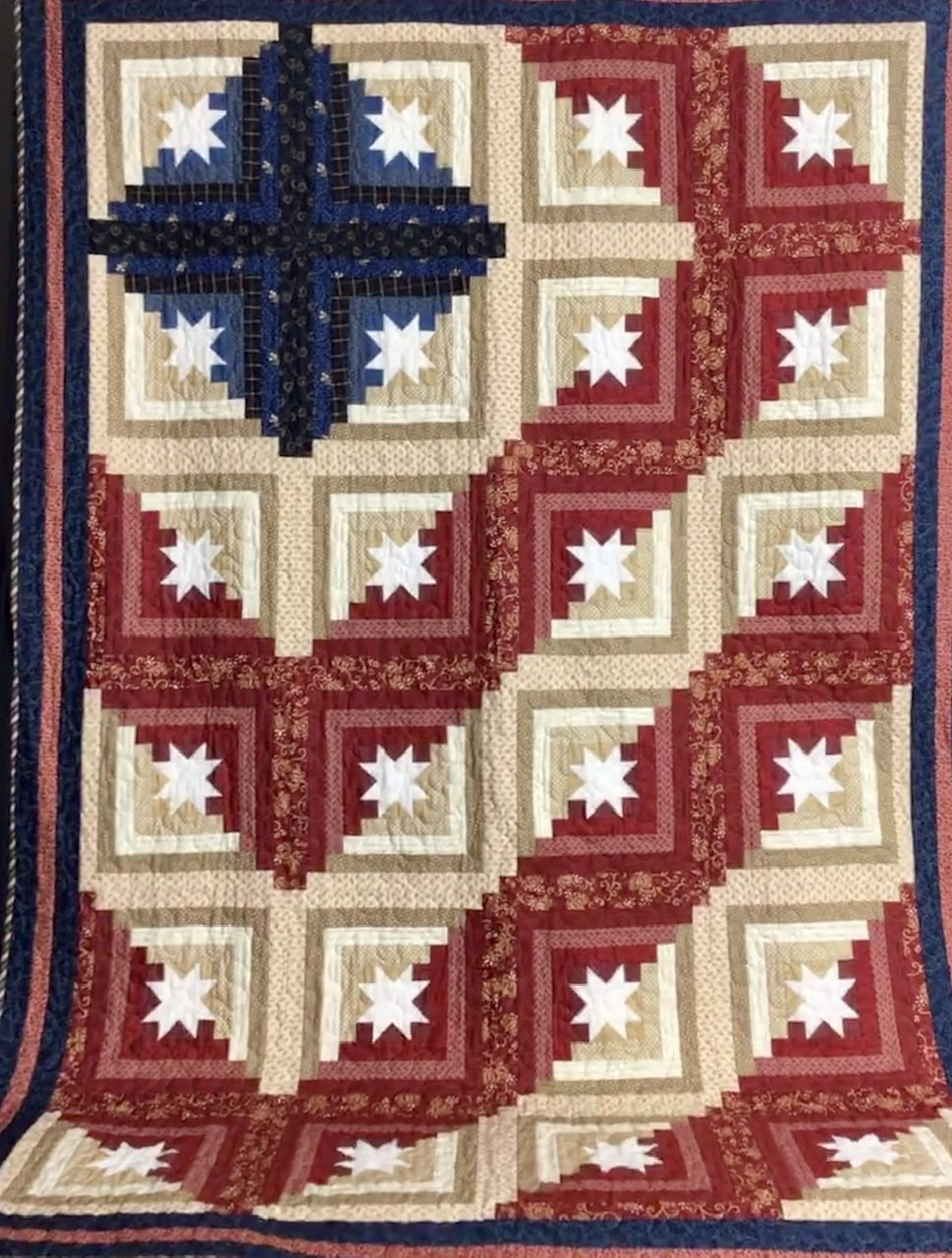 Log Cabin Americana pattern