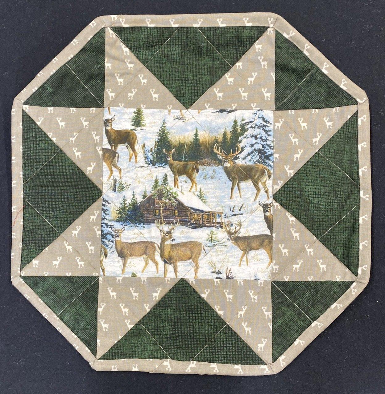 One Little Star Deer Topper