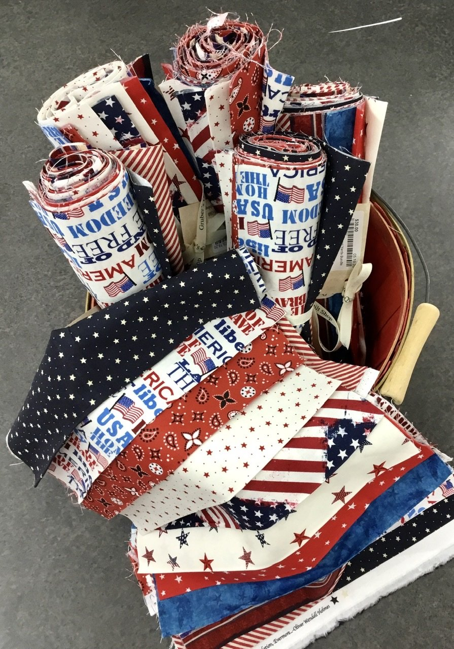 10 Patriotic Third Yards Bundle