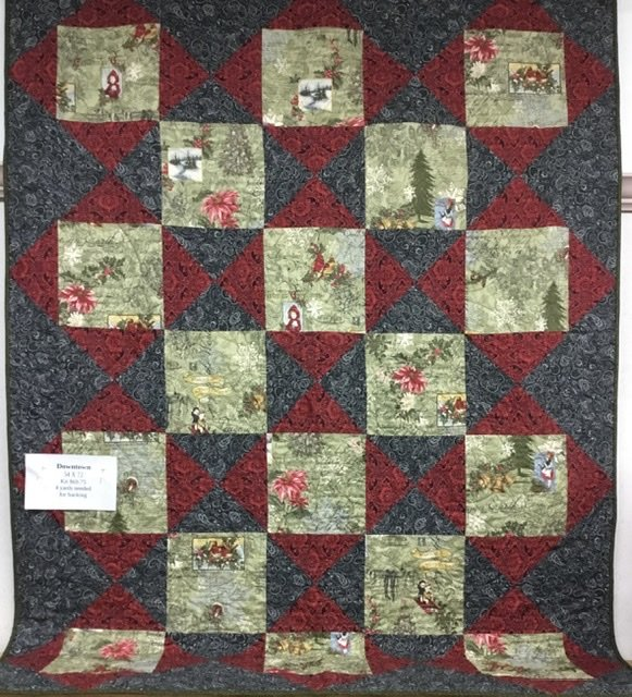 Downtown Kit 2020 feat Marches De Noel fabric from 3 Sisters