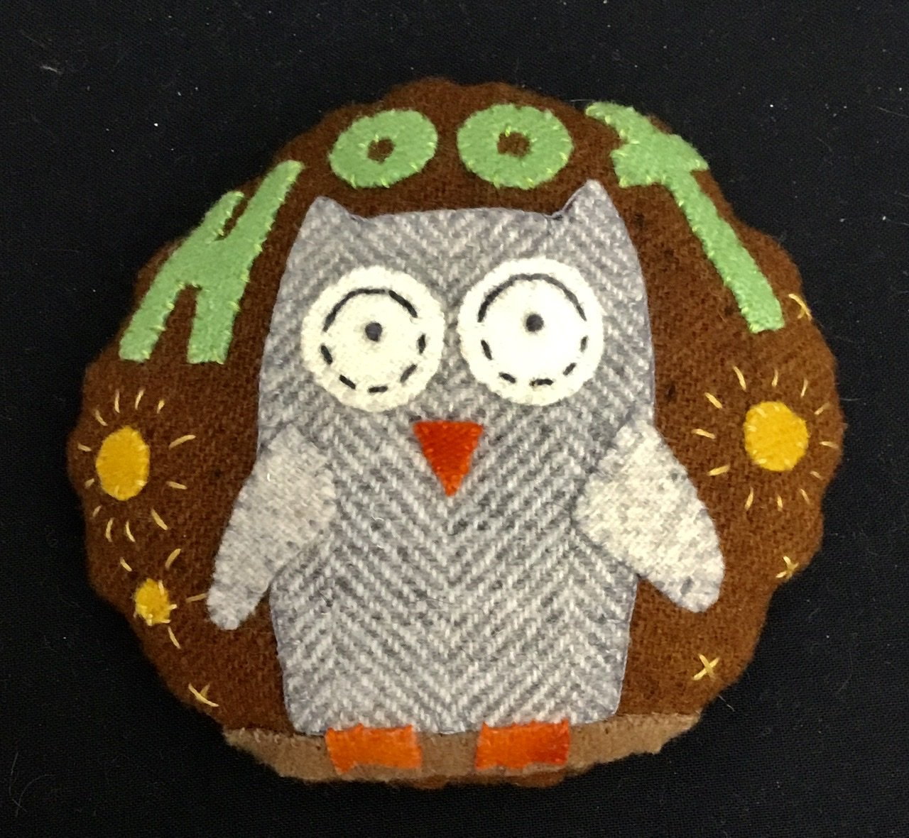 Hilda The Hoot Pincushion Kit