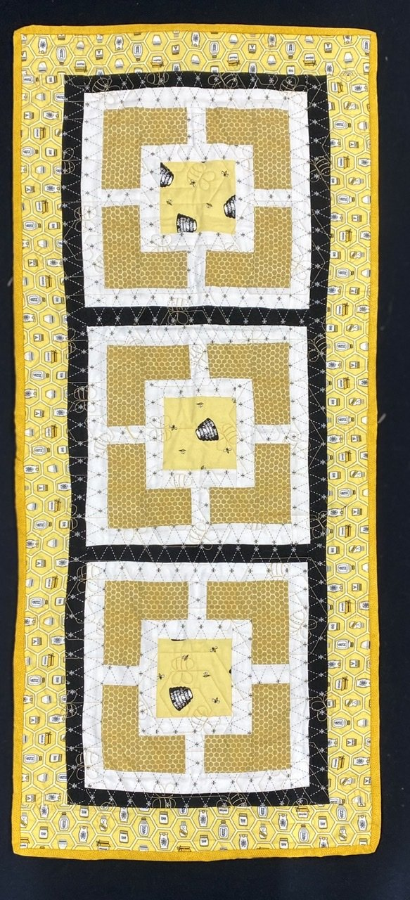 City Squares Runner Kit HoneyBees