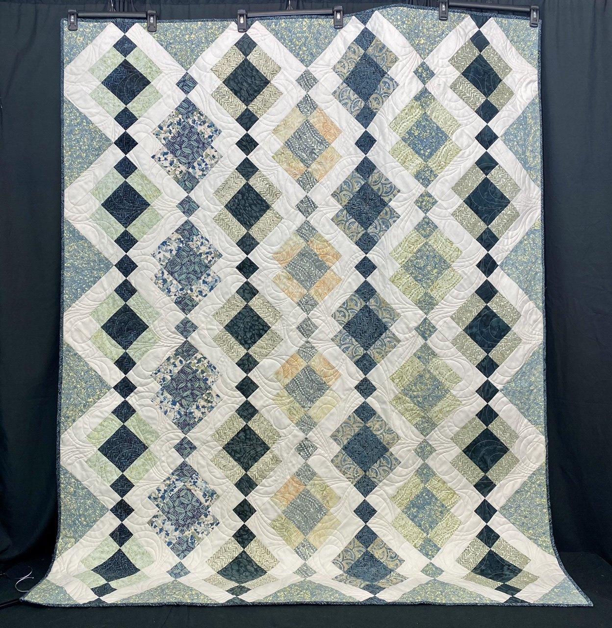 Batiks Kelly Quilt 57 x 71