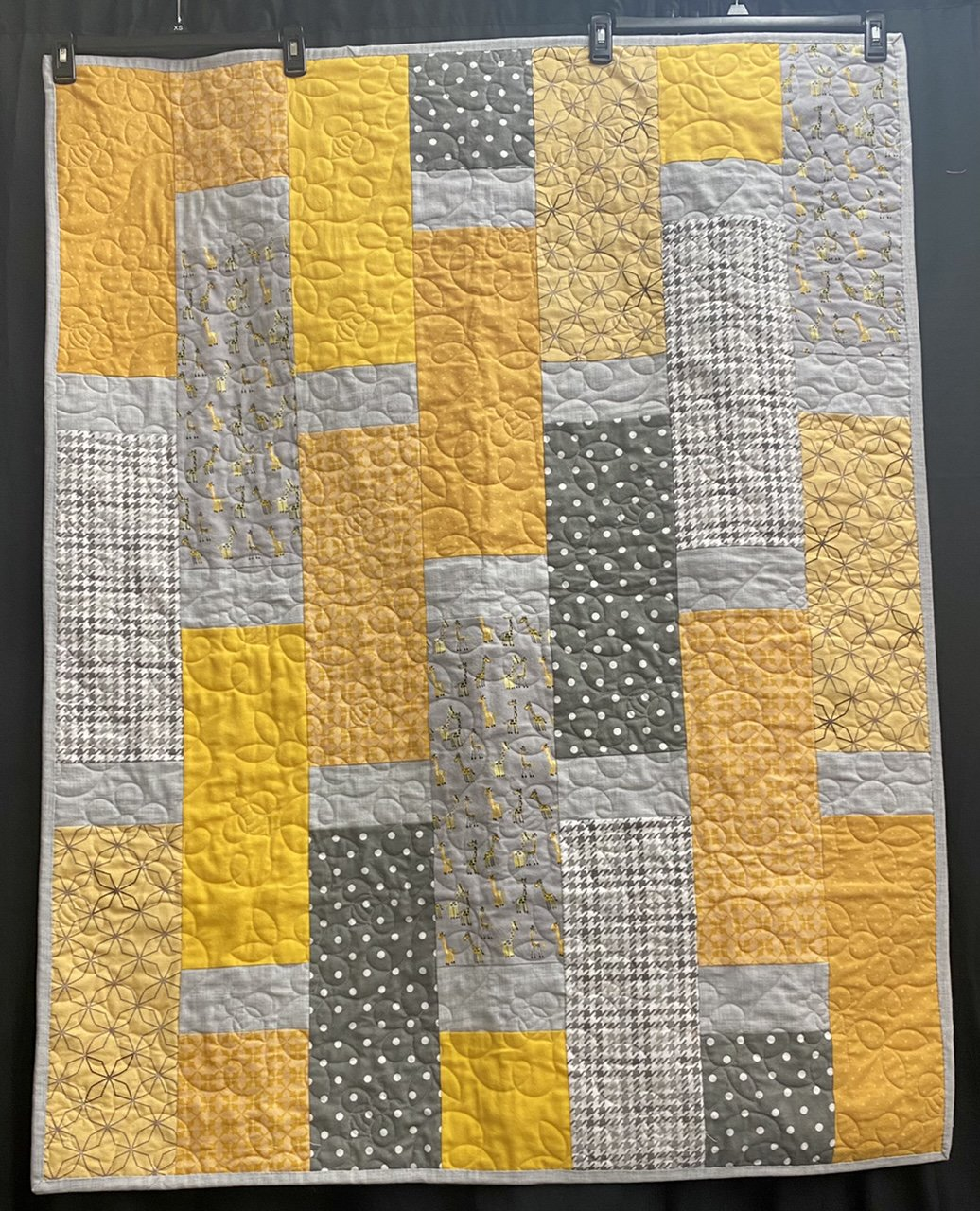 Augustina Giraffe Flannel 42x54 Kit