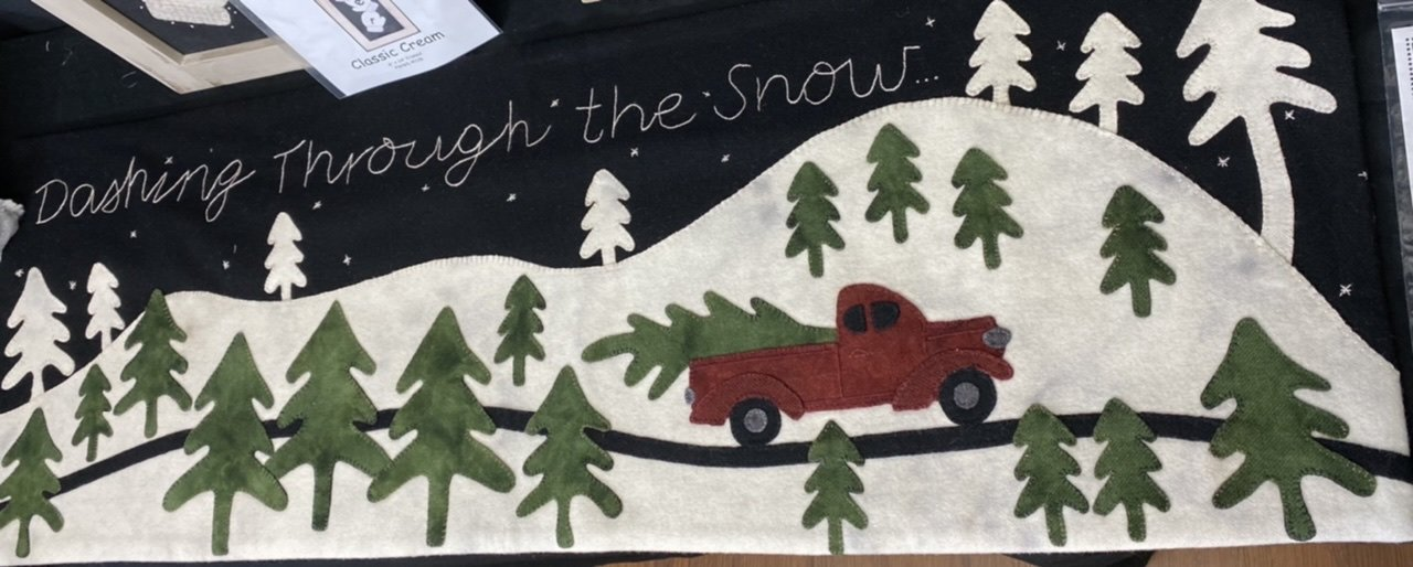 Dashing Through The Snow Wool kit